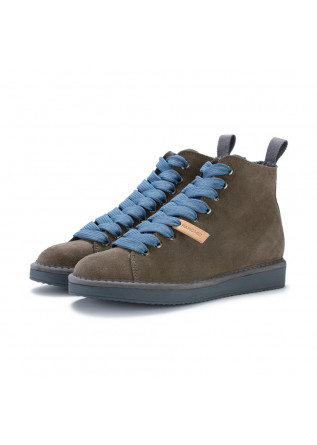 womens ankle boots panchic grey blue