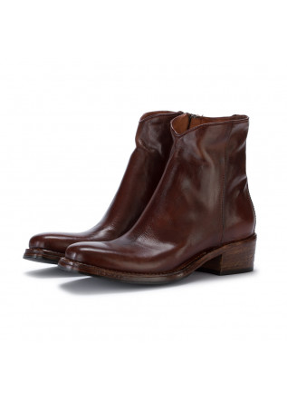 womens ankle boots manovia52 sidney cuoio brown