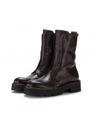 womens boots manovia52 mustang dark brown