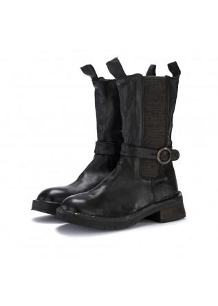 womens boots manufatto toscano vinci bufalo black