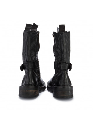 WOMEN'S BOOTS MANUFATTO TOSCANO VINCI | BUFALO BLACK