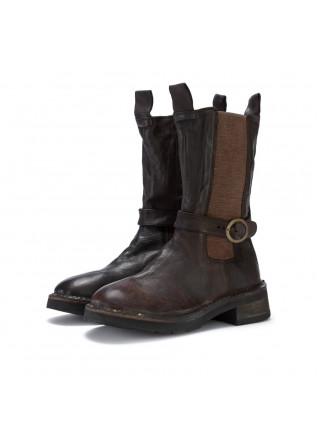 womens boots manufatto toscano vinci bufalo brown