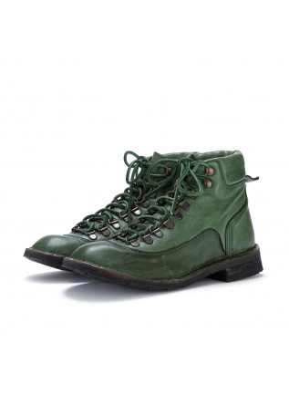 womens ankle boots manufatto toscano vinci green