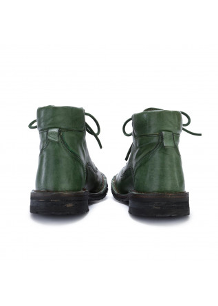WOMEN'S ANKLE BOOTS MANUFATTO TOSCANO VINCI | GREEN