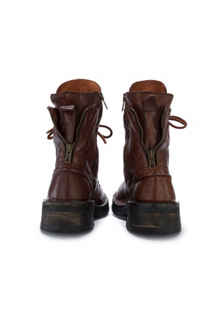 WOMEN'S LACE-UP BOOTS MANUFATTO TOSCANO VINCI | BROWN