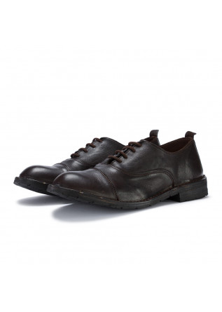 mens lace up shoes manufatto toscano vinci brown