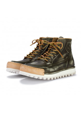 stivaletti uomo bng real shoes la yankee verde