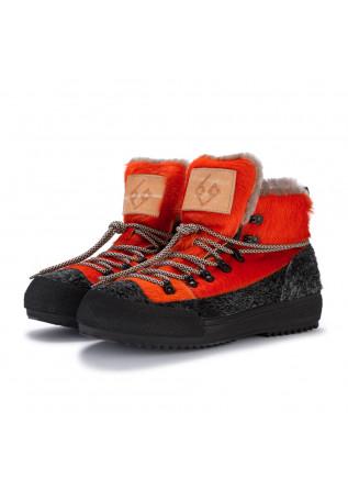 herrenstiefeletten bng real shoes la yeti orange