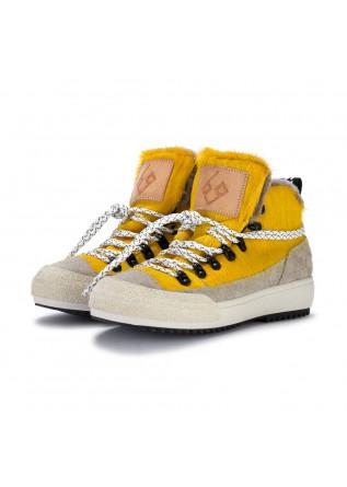 damenstiefeletten bng real shoes la yeti gelb