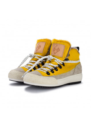 womens ankle boots bng real shoes la yeti yellow