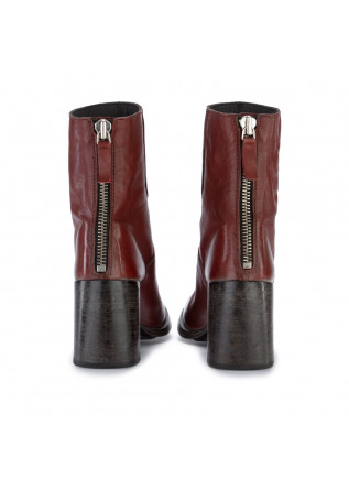 WOMEN'S ANKLE BOOTS MOMA | MONTONE LUX RED