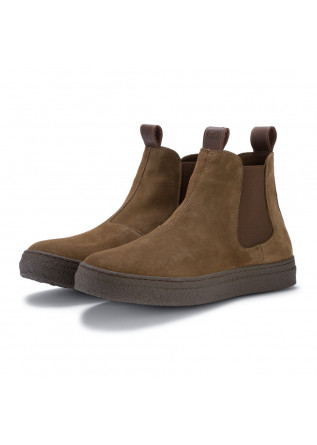 mens chelsea ankle boots oa non fashion brown