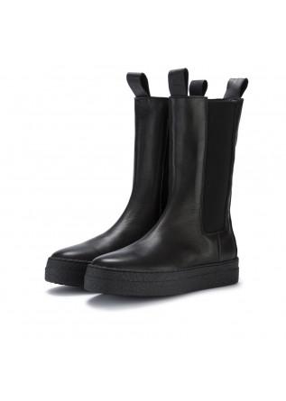 stivali chelsea donna oa non fashion calf nero