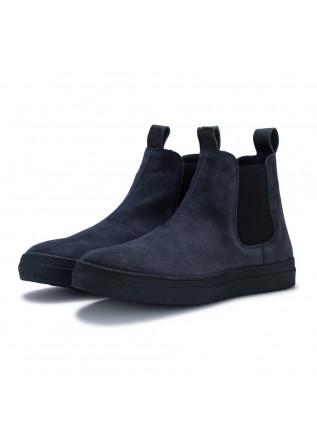 mens chelsea ankle boots oa non fashion evolo blue