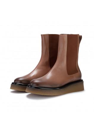 womens chelsea boots halmanera nora brown