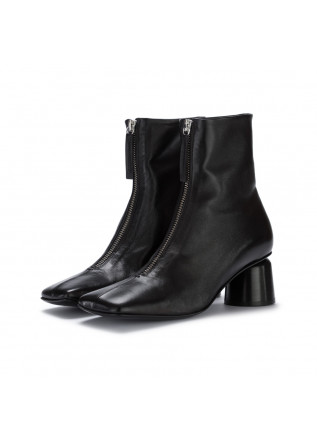 stivali tacco donna halmanera fanny nero