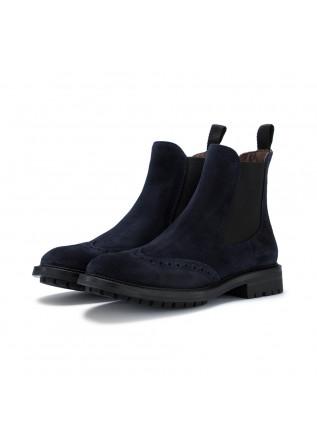 womens chelsea ankle boots manovia52 vivel navy blue