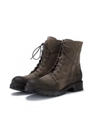womens lace up boots manovia52 vivel caribu grey