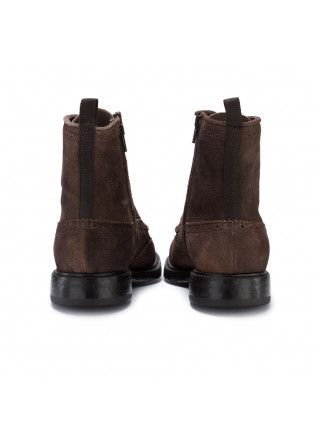 MEN'S LACE-UP ANKLE BOOTS MANOVIA 52 | CHALLENGER BROWN