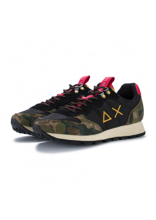 mens sneakers sun68 tom goes camping camouflage