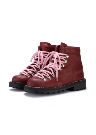 womens boots lerews track roccia bordeaux