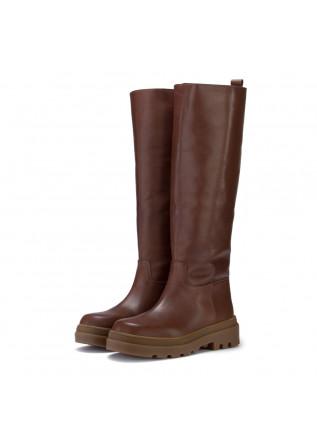 womens boots sofia len nut brown