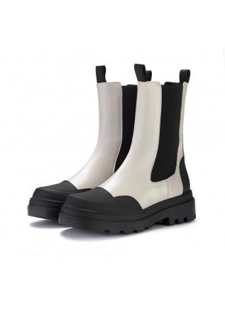 women's chelsea boots sofia len ghiaccio beige black