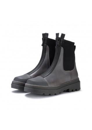 womens ankle boots sofia len skubo grey black