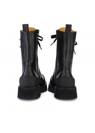 WOMEN'S LACE-UP BOOTS MARA BINI   P871 BLACK