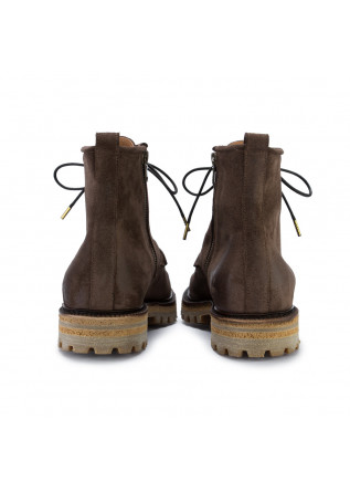 MEN'S LACE-UP ANKLE BOOTS MAN.TO | VAIL CROSTA BROWN