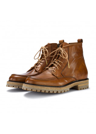 mens lace up boots manto vail vitello brown