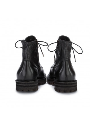 MEN'S LACE-UP ANKLE BOOTS MAN.TO | PHANTOM BLACK