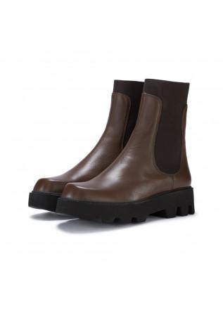 womens chelsea boots stelio malori box brown