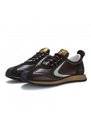sneakers uomo valsport special marrone