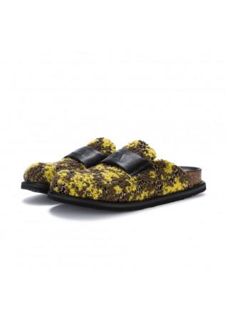 womens slipper oa non fashion senape yellow brown