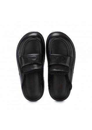 WOMEN'S SLIPPERS OA NON-FASHION | A37 CALF BLACK