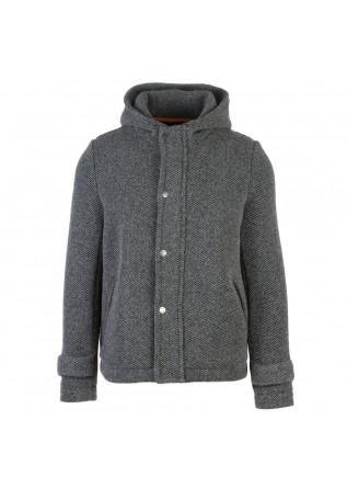 giacca uomo distreto12 hooded j blasius grigio