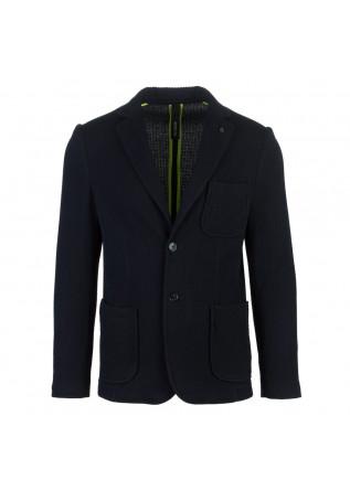 mens jacket distreto12 lerni dark blue