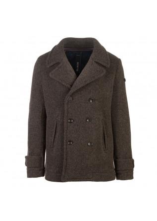 giacca uomo distretto12 peacoat blasius marrone