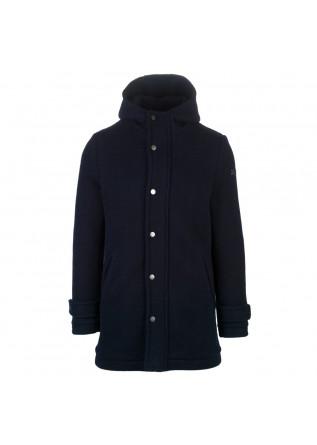 mens coat distretto12 parka blasius dark blue