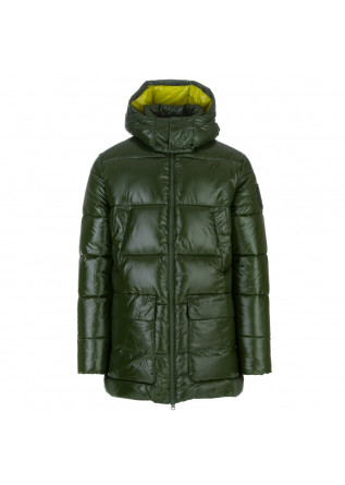 mens puffer jacket save the duck christian green