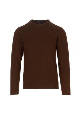 maglione uomo daniele fiesoli marrone
