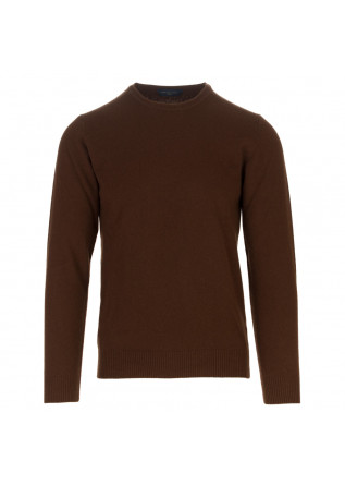 mens sweater daniele fiesoli brown