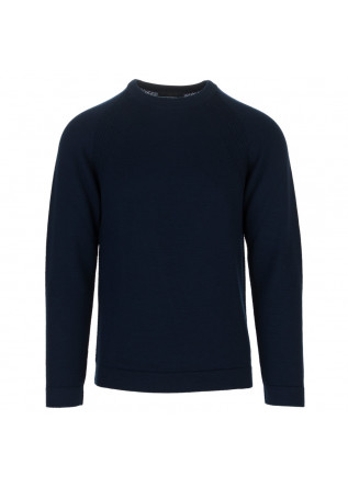 mens sweater daniele fiesoli dark blue