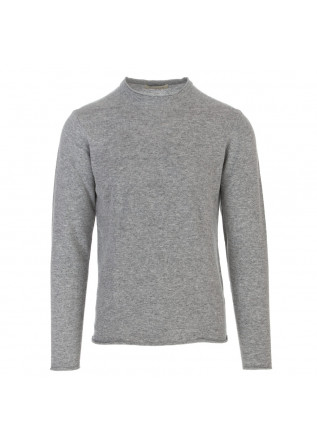 mens sweater wool and co light grey