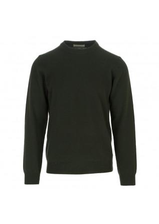 maglione uomo wool and co verde scuro
