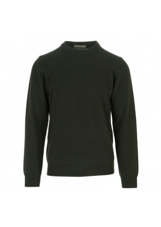 mens sweater wool and co dark green