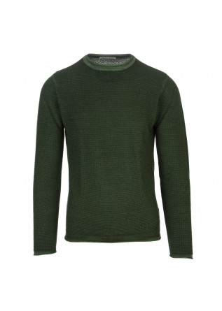 mens sweater wool and co green