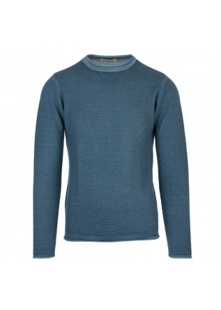 mens sweater wool and co powder blue