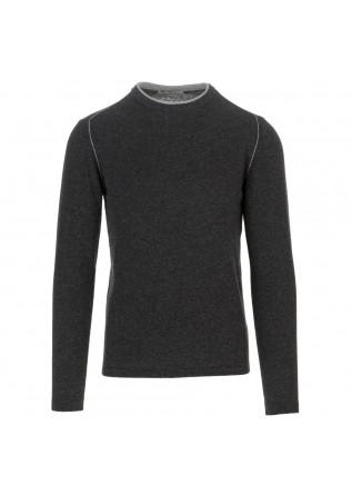 maglione uomo wool and co grigio scuro